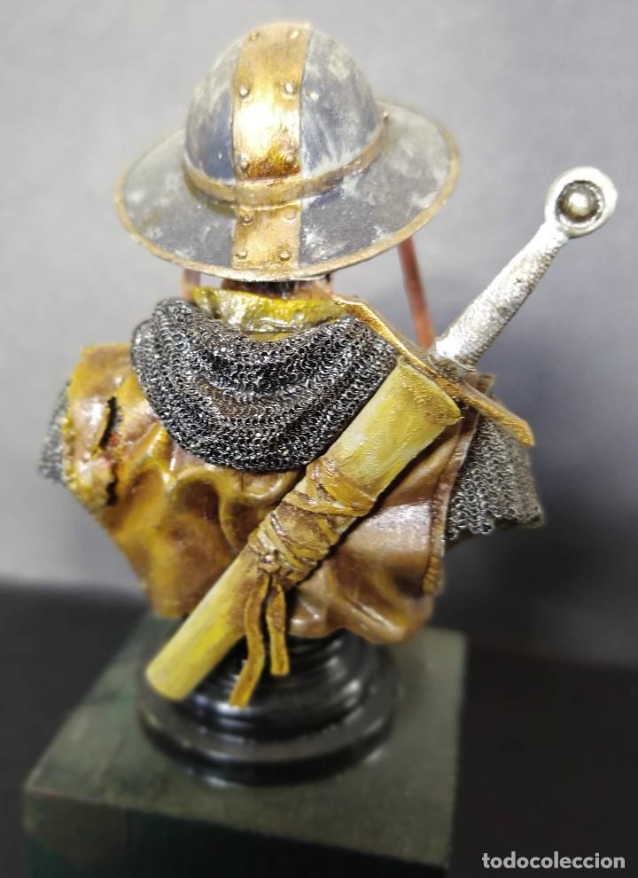 Hobbys: SARGENTO TEMPLARIO. BUSTO PINTADO EN CALIDAD ALTA - Foto 4 - 218962408