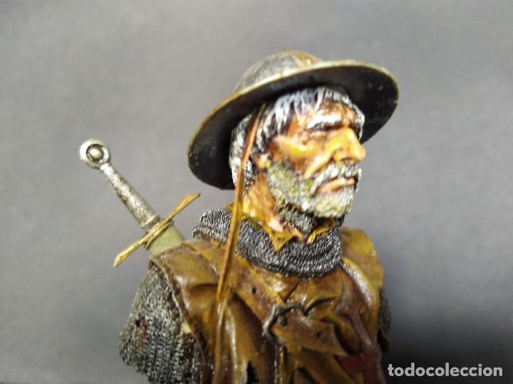 Hobbys: SARGENTO TEMPLARIO. BUSTO PINTADO EN CALIDAD ALTA - Foto 5 - 218962408