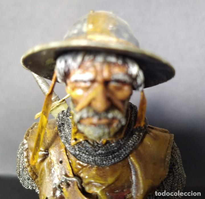 Hobbys: SARGENTO TEMPLARIO. BUSTO PINTADO EN CALIDAD ALTA - Foto 6 - 218962408