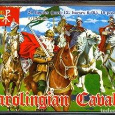 Hobbys: 1/72 STRELETS CAROLINGIAN CAVALRY,. Lote 220469003
