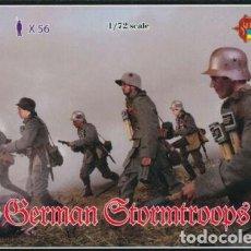 Hobbys: 1/72 STRELETS M055 WW I ,TROPAS DE ASALTO ALEMANAS, GERMAN STORMTROOPS. Lote 220481571