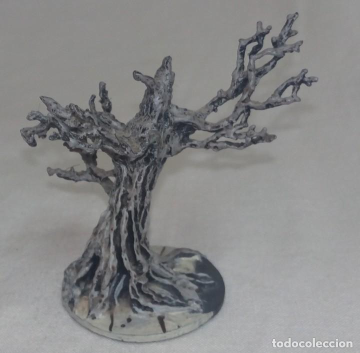 Hobbys: El Señor de los anillos. Figura de Plomo Nº 136 Árbol de Gondor. Sin caja. - Foto 4 - 220948263