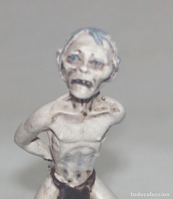 Hobbys: El Señor de los anillos. Figura de Plomo Nº 157 Gollum. Sin caja. - Foto 2 - 220948362