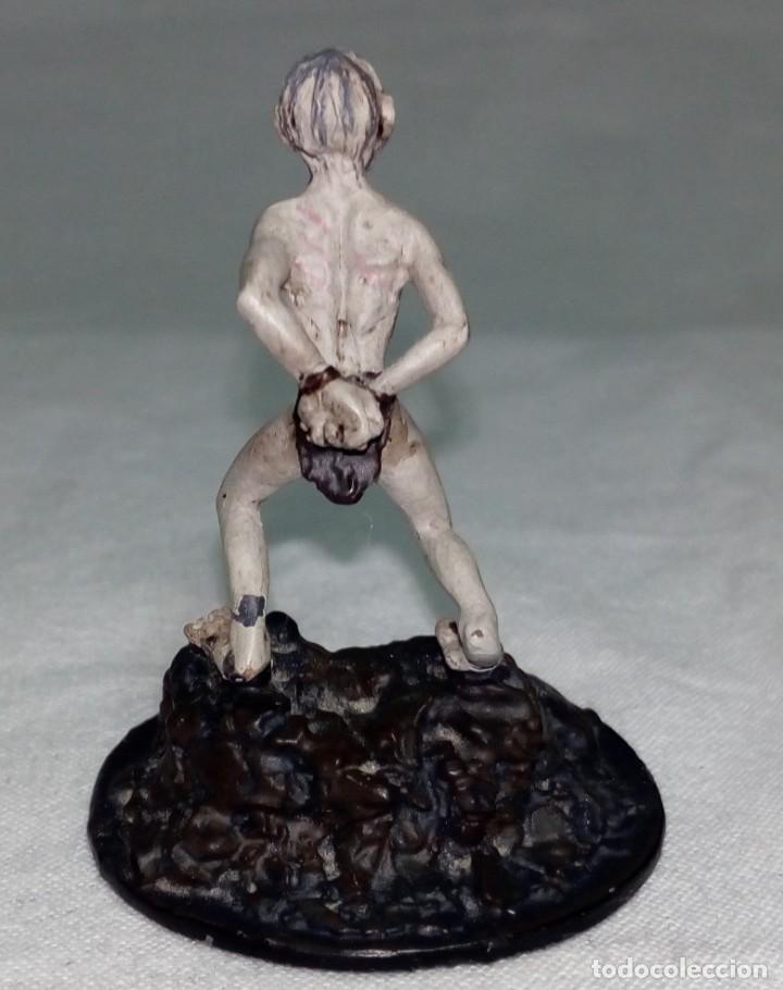 Hobbys: El Señor de los anillos. Figura de Plomo Nº 157 Gollum. Sin caja. - Foto 5 - 220948362