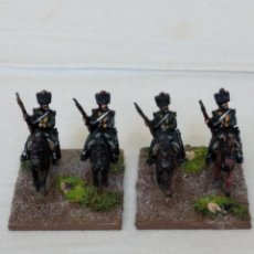 Hobbys: 15MM AB NAPOLEONIC 4 FRENCH ELITE CHASSEUR WITH CARBINE PINTADOS EN ALTA CALIDAD. Lote 221116218