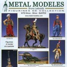Hobbys: CATALOGO DE LUJO DE BRUNO LEIBOVITZ: FIGURAS EN METAL. Lote 221460023