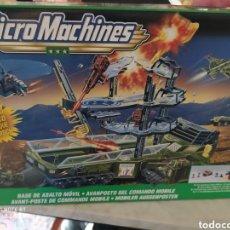 Hobbys: 1999 MICRO MACHINES/G.I. JOE CONJUNTO DE JUEGO DE LA BASE DE ASALTO MÓVIL/HASBRO. Lote 222219926