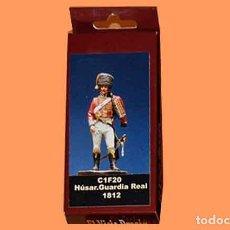 Hobbys: FIGURA DE HÚSAR DE LA GUARDIA REAL JOSEFINA (1808-12) DE EL VIEJO DRAGON (METAL). Lote 222486465