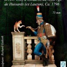 Hobbys: JEFE DE ESCUADRÓN DEL 5.º REGIMIENTO DE HÚSARES (ANTIGUO LAUZUN), 1796. ALEXANDROS. 75 MM. Lote 223206476