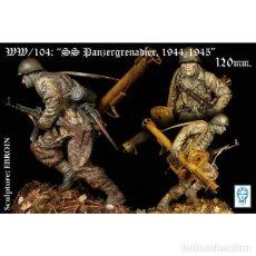 Hobbys: PANZERGRENADIER SS 1944-1945. ALEXANDROS. 120 MM. Lote 223206983