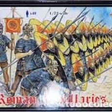 Hobbys: CAJA CON TROPAS AUXILIARES ROMANAS (Nº2 DE ESTA SERIE) DE STRELETS A ESCALA 1/72. Lote 224423713