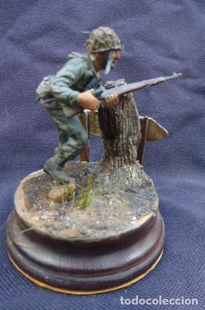 Hobbys: 36 Division de Infanteria al asalto en Montecassino.....1944...Maqueta..---Finales de los 80. - Foto 2 - 226278110