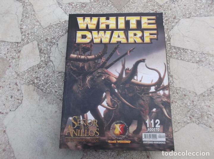 WHITE DWARF Nº 112, EL SEÑOR DE LOS ANILLOS, LOS DESPOJADOS , LA TORMENTA DEL CAOS, INDEX XENOS (Juguetes - Modelismo y Radiocontrol - Figuras en miniatura)