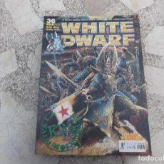 Hobbys: WHITE DWARF Nº 36, DUELO DE HECHICEROS, STILLMANIA ERN BUSCA DEL GRIAL, EL MUNDO ASTRONAVE. Lote 227979620