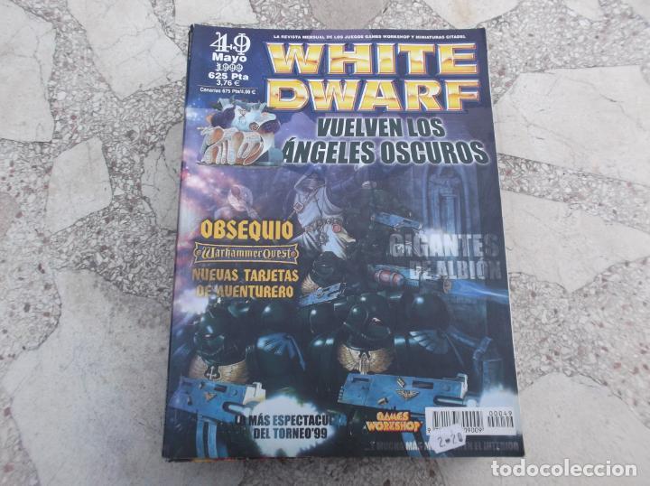 WHITE DWARF Nº 49, GIGANTES DE ALBION, TZEENTCH EL GRAN HECHICERO, RUEDAS DE ACERO, BLOOD BOWL (Juguetes - Modelismo y Radiocontrol - Figuras en miniatura)