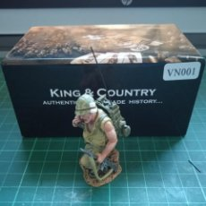 Hobbys: KING & COUNTRY VN001 USMC RADIO OPERADOR. 1/30. Lote 228295220