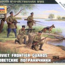 Hobbys: 6144 ZVEZDA 1/72 WW II SOVIET FRONTIER GUARDS 1941 SEALED PRECINTADO.. Lote 229209705