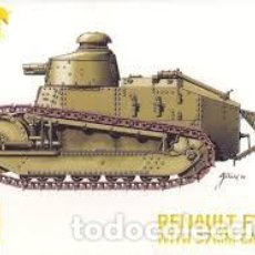 Hobbys: HAT - RENAULT FT-17 WITH 37MM CANNON 1/72 8114 2 TANQUES. Lote 233596635