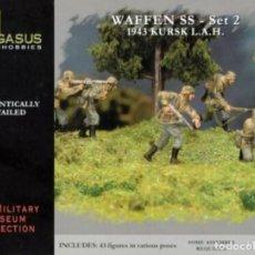 Hobbys: 7202 PEGASUS 1/72 WWII GERMAN WAFFEN SS -SET 2 -. Lote 233607335