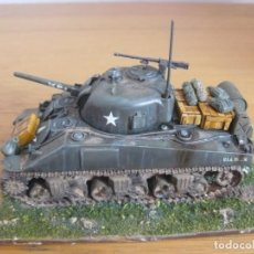 Hobbys: 28MM BOLT ACTION WORLD WAR II SHERMAN AMERICAN PRO PAINTED. Lote 233906990