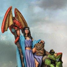 Hobbys: FANTASIA: HECHICERA ,DRAGONS & MAGIC. Lote 235641360