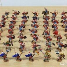 Hobbys: LOTE DE 56 SOLDADITOS 1/72 - LEGIÓN DE ROMA - ROMANOS DE ATLANTIC. REF. 1515. YA PINTADOS Y SIN CAJA. Lote 235844105
