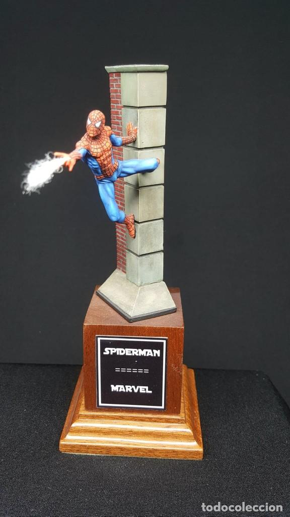 Hobbys: FIGURA SPIDERMAN EN 54MM PINTADA - Foto 1 - 236994575