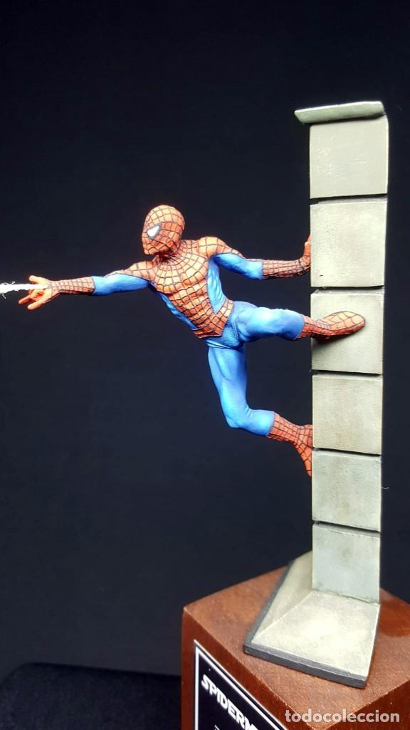 Hobbys: FIGURA SPIDERMAN EN 54MM PINTADA - Foto 2 - 236994575