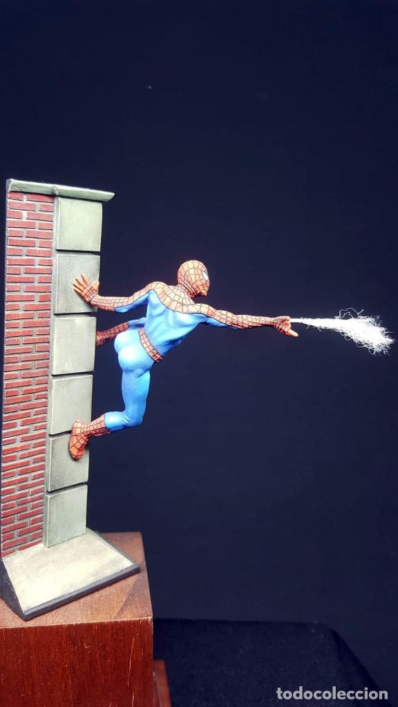 Hobbys: FIGURA SPIDERMAN EN 54MM PINTADA - Foto 4 - 236994575