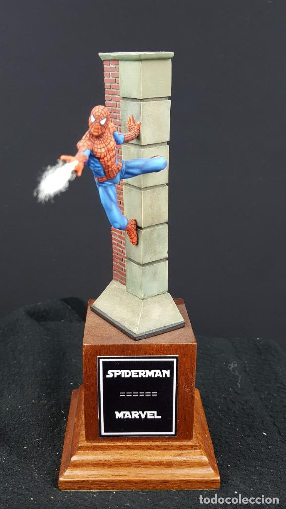 Hobbys: FIGURA SPIDERMAN EN 54MM PINTADA - Foto 5 - 236994575