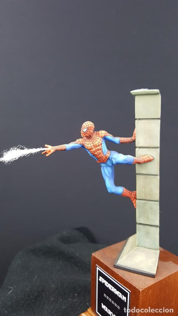 Hobbys: FIGURA SPIDERMAN EN 54MM PINTADA - Foto 6 - 236994575