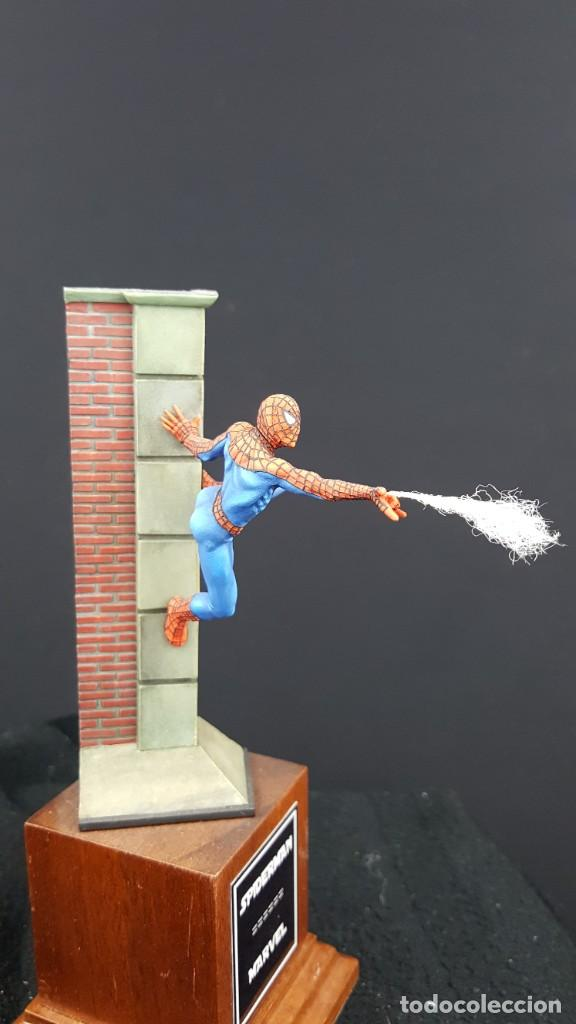 Hobbys: FIGURA SPIDERMAN EN 54MM PINTADA - Foto 7 - 236994575