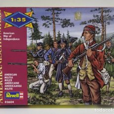 Hobbys: REVELL MILICIA AMERICAN WAR INDEPENDENCE ESCALA 1/35. Lote 239995335