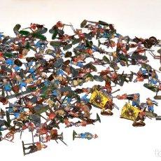 Hobbys: LOTE DE MAS DE 100 FIGURAS DE 1/72 PINTADAS, 1980,S REVELL, ESCI, AIRFIX, ETC, VER DESCRIPCIÓN.. Lote 241904560