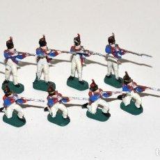 Hobbys: LOTE DE 9 FIGURAS DE 1/72 PINTADAS, 1980,S REVELL, ESCI, AIRFIX, ETC, VER DESCRIPCIÓN.. Lote 241904850