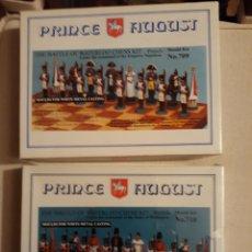 Hobbys: MOLDES DE AJEDREZ CON FIGURAS DE LA BATALLA DE WATERLOO. 54MM PRINCE AUGUST. Lote 243995720