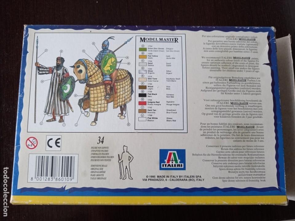 Hobbys: 2 cajas de guerreros sarracenos italeri 1:72 - Foto 3 - 245295840