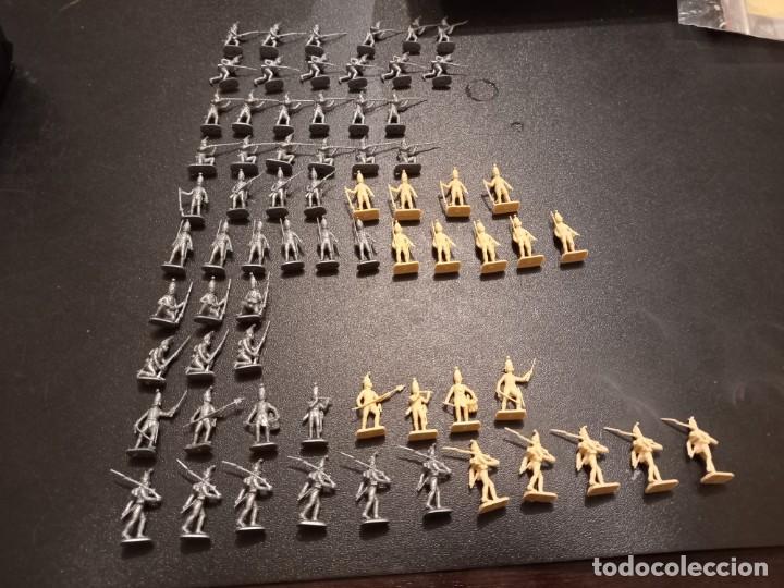LOTE DE FIGURAS GRANADEROS RUSOS ITALERI (Juguetes - Modelismo y Radiocontrol - Figuras en miniatura)