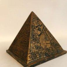 Hobbys: FIGURA DE EGIPTO PIRAMIDE 7X7 CM.. Lote 255603080