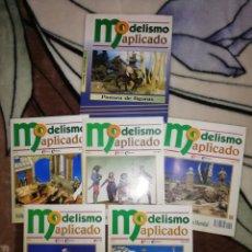 Hobbys: MODELISMO APLICADO. TOMO 5 PINTURA DE FIGURAS. TAPA DURA Y 5 FASCICULOS. COMPLETO.. Lote 256085465