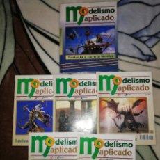 Hobbys: MODELISMO APLICADO. TOMO 6 FANTASIA Y CIENCIA FICCION. TAPA DURA Y 5 FASCICULOS. COMPLETO.. Lote 256085685