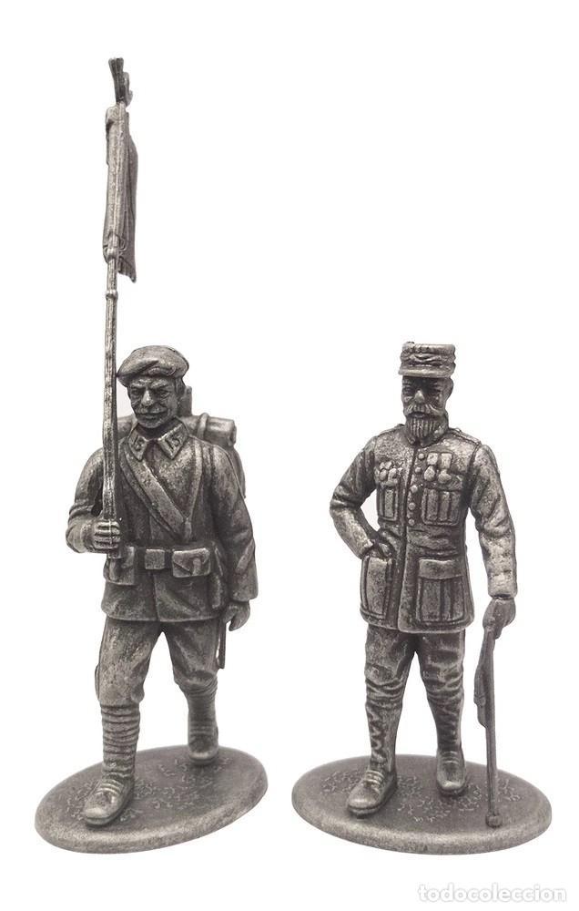 SET DE FIGURA EN PLOMO, GENERAL GORAUD , UNIFORME DE CAZADOR ALPINO, 1:24, COLECCIÓN 1914-18 (Juguetes - Modelismo y Radiocontrol - Figuras en miniatura)
