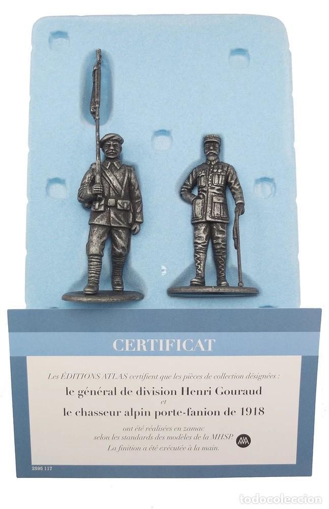 Hobbys: Set de Figura en Plomo, GENERAL GORAUD , uniforme de CAZADOR ALPINO, 1:24, COLECCIÓN 1914-18 - Foto 3 - 207763792