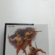 Hobbys: MASTER BOX. 1:35. FIGURAS DE AMERICANOS Y BARRICADAS ITALERI. Lote 258963020