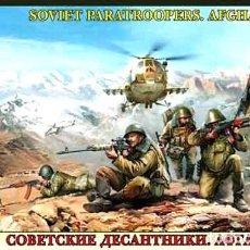 Hobbys: CAJA CON PARACAIDISTAS SOVIÉTICOS EN LA GUERRA DE AFGANISTÁN DE ZVEZDA A 1/35 (¡OCASIÓN!). Lote 261670565