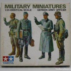 Hobbys: TAMIYA MILITARY MINIATURES ARMY OFICER ESCALA 1/35. Lote 262086630