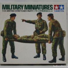 Hobbys: TAMIYA MILITARY MINIATURES BRITISH STRETCHER PARTY ESCALA 1/35. Lote 262088170
