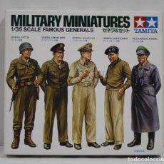 Hobbys: TAMIYA MILITARY MINIATURES FAMOUS GENERALS ESCALA 1/35. Lote 262093020