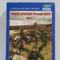 Hobbys: FIGURAS TRUMPETER PANZER DIVISON POLAND 1939 ESCALA 1/35. Lote 263186670