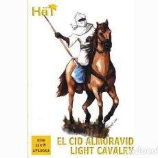 Hobbys: CAJA CON CABALLERÍA LIGERA ALMORÁVIDE ÉPOCA DE EL CID DE HAT A ESCALA 1/72. Lote 263196895